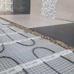 SET komplet za podno grijanje - električna grijaća mreža za 2,5 m2 / 250W + digitalni programabilan sobni termostat BVF 701 s podnim senzorom