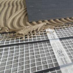 Grijaća mreža ispod keramičkih pločica