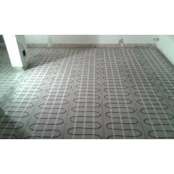 SET komplet za podno grijanje - električna grijaća mreža za 2,5 m2 / 250W + digitalni programabilan sobni termostat BVF 601 s podnim senzorom