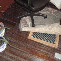 Grijaći film ispod tepiha uredske stolice