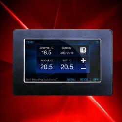 BVF SYME Wi-Fi bijeli - programabilan sobni termostat s daljinskim pristupom sa svih vrsta pametnih uređaja