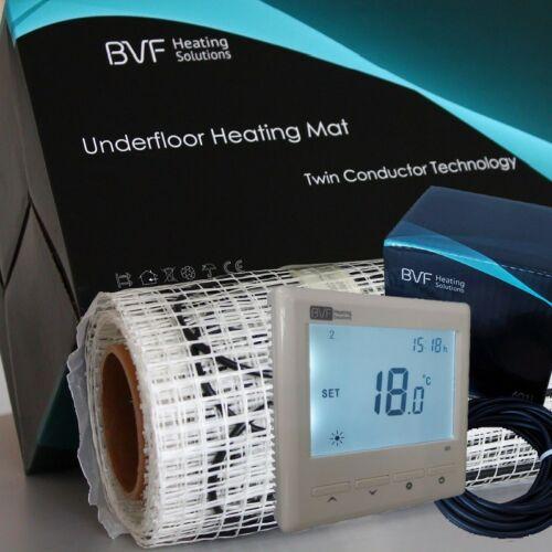 SET - Električna grijaća mreža 3 m2 sa 150W/m2 + digitalmni tjedni termostat BVF 601 sa podnim senzorom