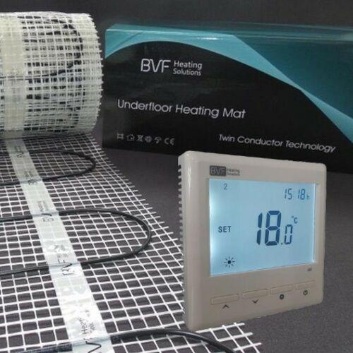 SET - Električna grijaća mreža 10 m2 sa 100W/m2 + digitalmni tjedni termostat BVF 601 sa podnim senzorom