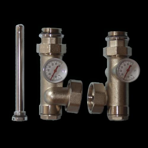 Kombinirani elementi priključaka na cirkulacione  pumpe za centralno grijanje serije NA25 - Computherm FM04