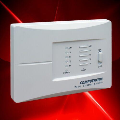 Višezonski upravljač termostata za grijanje