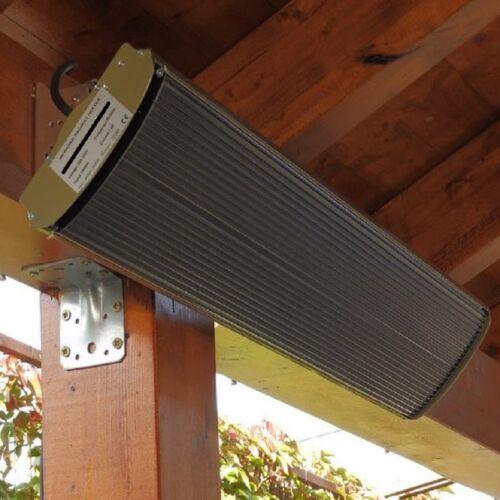 Grijanje terasa tamnim infrapanelom