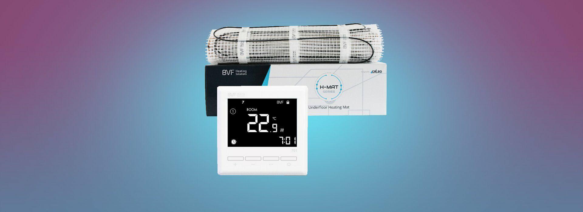Grijaća mreža + termostat u SET-u